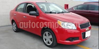 Foto venta Auto usado Chevrolet Aveo 4p LT L4/1.6 Aut (2012) color Rojo precio $98,000