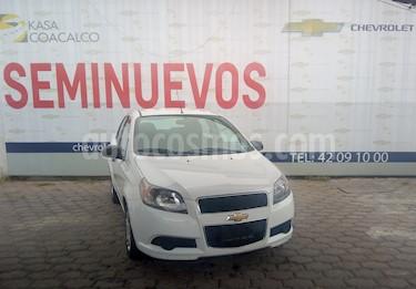 Foto venta Auto usado Chevrolet Aveo 4p LT L4/1.6 Aut (2016) color Blanco precio $135,900