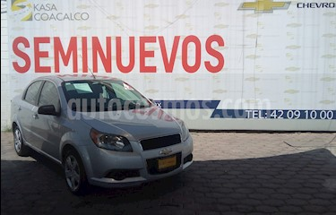 Foto venta Auto usado Chevrolet Aveo 4p LT L4/1.6 Aut (2014) color Plata precio $125,000