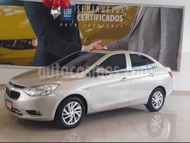 Foto venta Auto usado Chevrolet Aveo 4p LT L4/1.6 Man (2018) color Beige precio $211,900