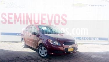 Foto venta Auto usado Chevrolet Aveo 4p LT L4/1.6 Man (2017) color Rojo precio $159,000