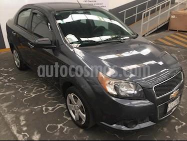 Foto venta Auto usado Chevrolet Aveo 4p LT L4/1.6 Man (2012) color Gris precio $109,900