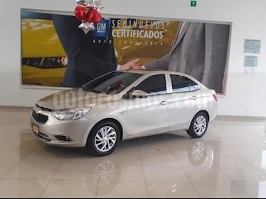 Foto venta Auto usado Chevrolet Aveo 4p LT L4/1.6 Man (2018) color Beige precio $188,900