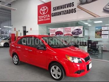 Foto Chevrolet Aveo 4p LT L4/1.6 Man usado (2017) color Rojo precio $139,000