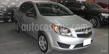 Foto venta Auto usado Chevrolet Aveo 4p LT L4/1.6 Man (2018) color Plata precio $179,000