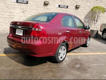 Foto venta Auto usado Chevrolet Aveo 4p LT L4/1.6 Man (2015) color Rojo precio $125,000