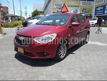 Foto venta Auto usado Chevrolet Aveo 4p LT L4/1.6 Man (2018) color Rojo precio $175,900