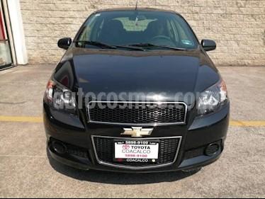 Foto venta Auto usado Chevrolet Aveo 4p LT L4/1.6 Man (2015) color Negro precio $135,000
