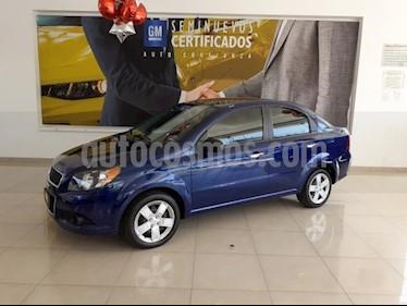 Foto venta Auto usado Chevrolet Aveo 4p LT L4/1.6 Man (2016) color Azul precio $133,900