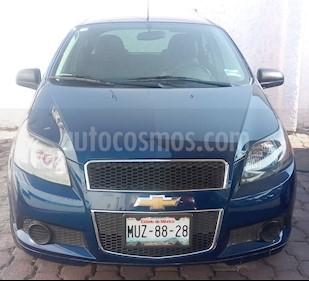 Foto venta Auto usado Chevrolet Aveo 4p LT L4/1.6 Man (2015) color Azul precio $130,000