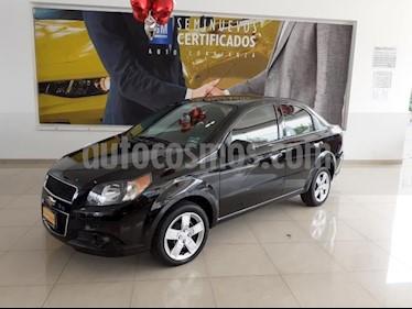 Foto venta Auto usado Chevrolet Aveo 4p LT L4/1.6 Man (2017) color Negro precio $166,900