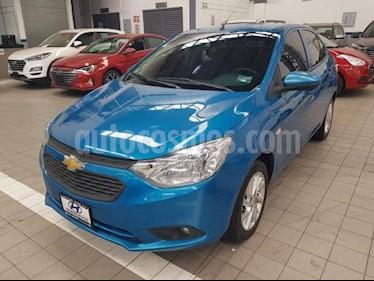 Foto venta Auto usado Chevrolet Aveo 4p LT L4/1.6 Man (2018) color Azul precio $185,000