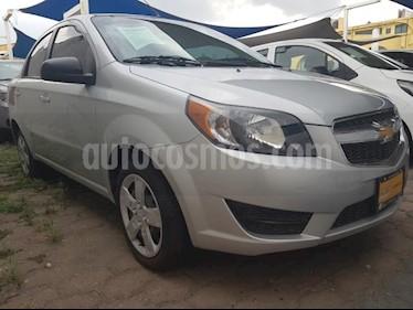 Foto venta Auto usado Chevrolet Aveo 4p LT L4/1.6 Man (2018) color Plata precio $170,000