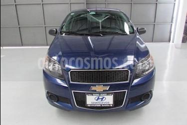 Foto venta Auto usado Chevrolet Aveo 4p LT L4/1.6 Man (2016) color Azul Marino precio $139,900