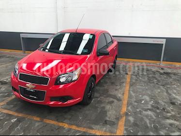 Foto venta Auto usado Chevrolet Aveo 4p LT L4/1.6 Man (2016) color Rojo precio $129,900