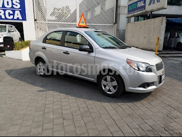 Foto venta Auto usado Chevrolet Aveo 4p LT L4/1.6 Man (2014) color Plata precio $96,000