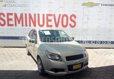 Foto venta Auto usado Chevrolet Aveo 4p LT L4/1.6 Man (2016) color Beige precio $150,000