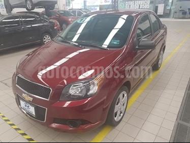 Foto venta Auto usado Chevrolet Aveo 4p LT L4/1.6 Man (2017) color Rojo precio $155,000