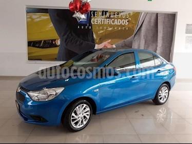 Foto Chevrolet Aveo 4P LT TM5 A/AC AUT. F. NIEBLA RA-15 usado (2018) color Azul precio $193,900