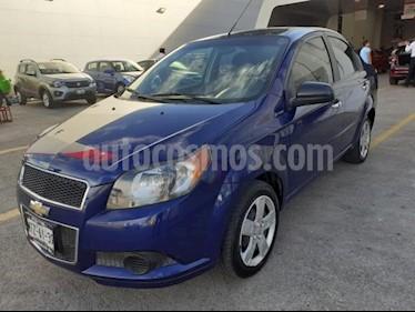 Foto Chevrolet Aveo 4P LT TM5 A/AC. VE CD BLUETOOTH R-15 usado (2015) color Azul precio $125,000