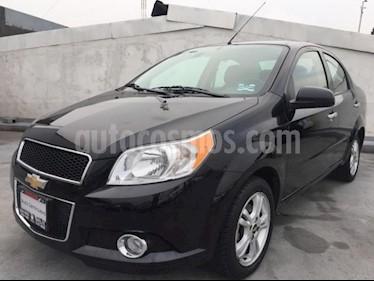 Foto Chevrolet Aveo 4p LTZ L4/1.6 Aut usado (2017) color Negro precio $155,000