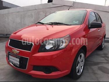 Foto Chevrolet Aveo 4p LTZ L4/1.6 Aut usado (2017) color Rojo precio $150,000