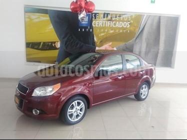 Foto venta Auto usado Chevrolet Aveo 4p LTZ L4/1.6 Aut (2017) color Rojo precio $164,900