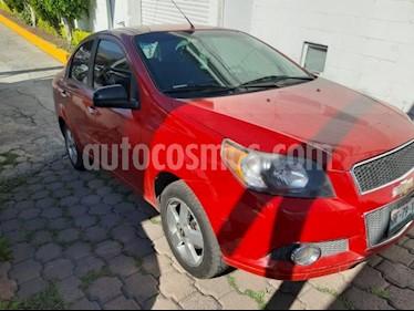 Foto venta Auto usado Chevrolet Aveo 4p LTZ L4/1.6 Man (2013) color Rojo precio $99,000