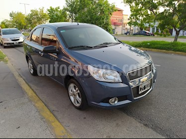 Chevrolet Aveo LT usado (2012) color Azul Marino precio $389.000