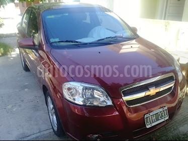 Chevrolet Aveo LT usado (2011) color Rojo Merlot precio $280.000
