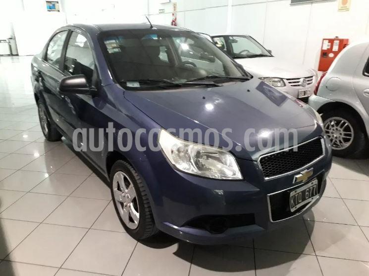 Chevrolet Aveo LS usado (2012) color Azul Marino precio $357.900