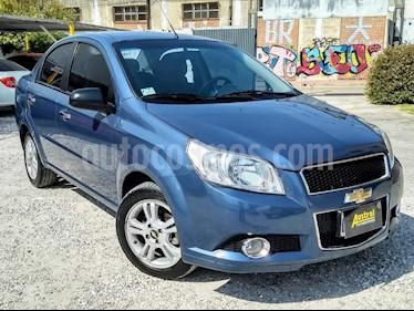 Chevrolet Aveo LT Aut usado (2012) color Azul Celeste precio $230.000