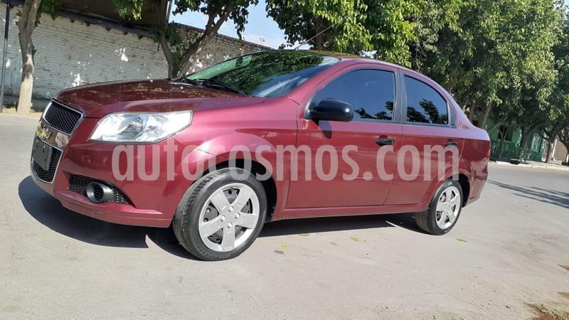 Chevrolet Aveo LS usado (2012) color Marron precio $500.000