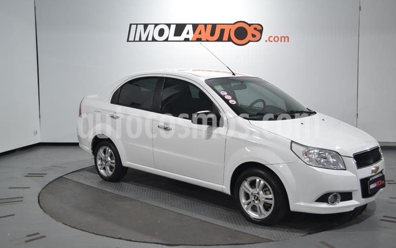 Chevrolet Aveo LT usado (2013) color Blanco precio $620.000