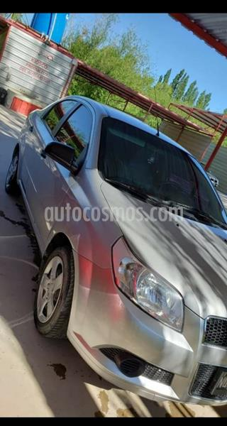 Chevrolet Aveo LT usado (2014) color Gris Plata  precio $520.000