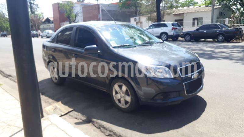 Chevrolet Aveo LS usado (2014) color Azul Marino precio $550.000