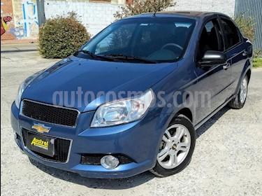 Chevrolet Aveo LT Aut usado (2012) color Azul Celeste precio $295.000