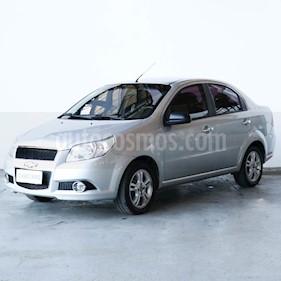 Chevrolet Aveo LT usado (2012) color Gris Tormenta precio $350.000