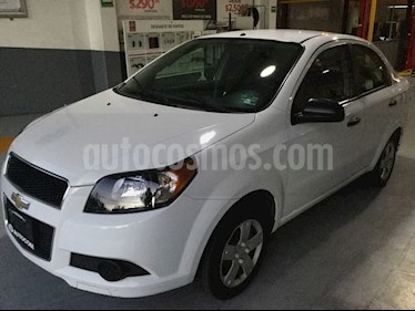Foto venta Auto Seminuevo Chevrolet Aveo AVEO 4 PTAS. M AA (2016) color Blanco precio $128,000
