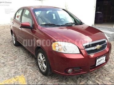 Foto venta Auto usado Chevrolet Aveo AVEO 4PTS ELEGANCE (2011) color Rojo precio $90,000
