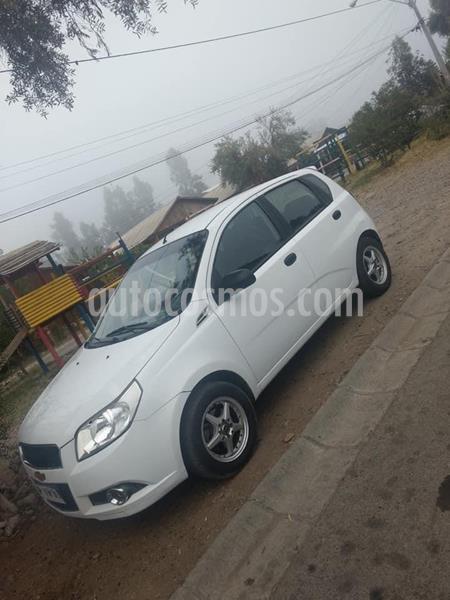 Chevrolet Aveo LS 1.4 3P Ac  usado (2012) color Blanco precio $4.200.000
