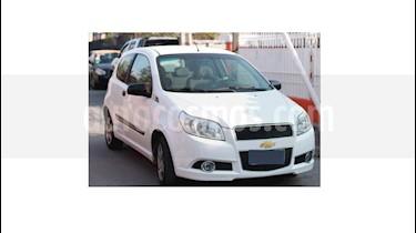 Chevrolet Aveo LS 1.4 3P Ac  usado (2011) color Blanco precio $3.200.000