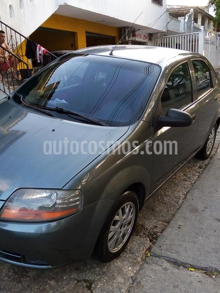 Chevrolet Aveo 1.6L Ac usado (2008) color Gris Oscuro precio $14.800.000
