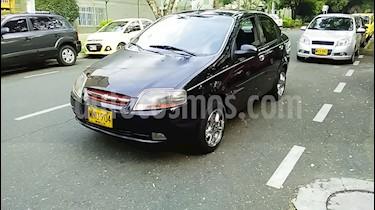 Chevrolet Aveo sedan 1.600 Aire usado (2008) color Negro precio $16.000.000
