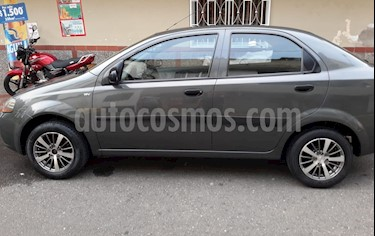 Chevrolet Aveo 1.4L Ac usado (2007) color Gris precio $15.300.000