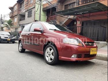 Chevrolet Aveo 1600 3p Edition Limited usado (2009) color Rojo precio $16.000.000