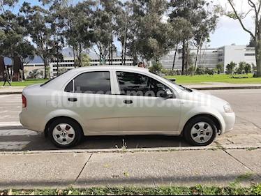Chevrolet Aveo sedan 1.600 Aire usado (2012) color Plata precio $17.500.000
