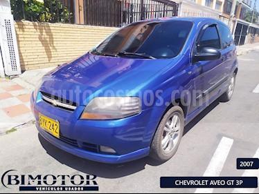 Chevrolet Aveo 1600 3p Edition Limited usado (2007) color Azul precio $18.900.000