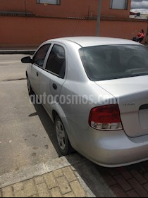 Chevrolet Aveo sedan 1.600 Aire usado (2011) color Plata precio $17.500.000