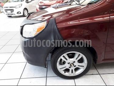 Foto venta Auto Seminuevo Chevrolet Aveo E (2017) color Rojo Barroco precio $179,000